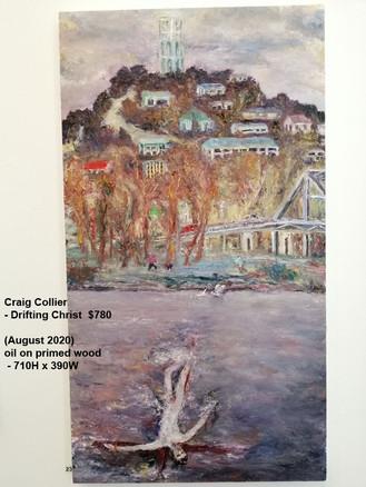 Craig Collier - Drifting Christ   $780