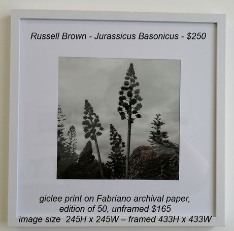 Russell Brown - Jurassicus Basonicus - $250