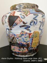 Aaron Scythe - Yobitsugi Style Large Vase (#1) - $POA