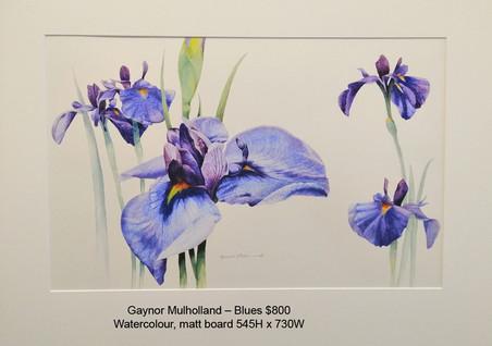 Gaynor Mulholland – Blues $800