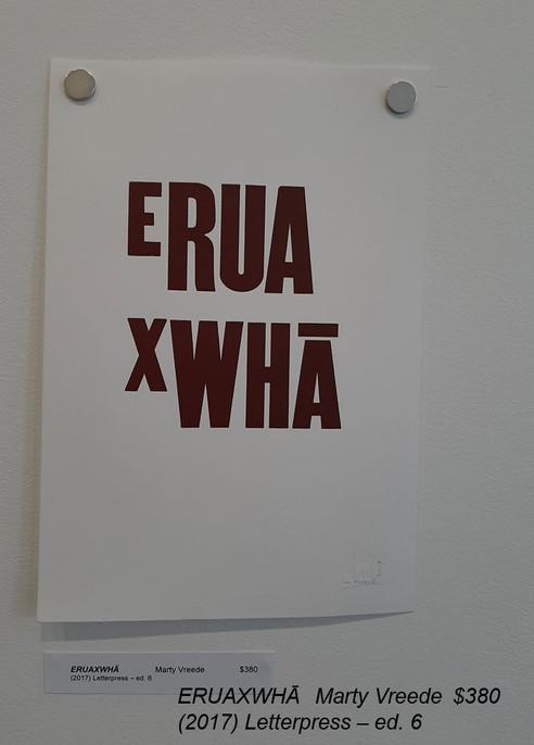 ERUAXWHĀMarty Vreede$380