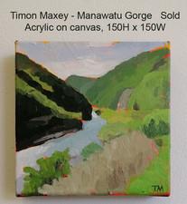 Timon Maxey - Manawatu Gorge $Sold