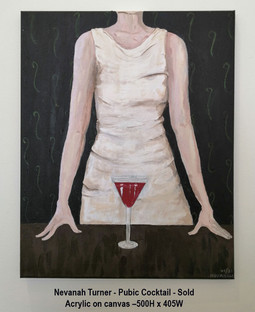 Nevanah Turner - Pubic Cocktail - Sold