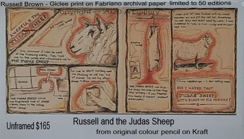Russell Brown -Russell and the Judas Sheep  $165