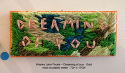 Wesley John Fourie – Dreaming of you Sold