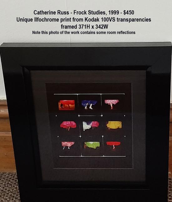Catherine Russ - Frock Studies, 1999 - $450