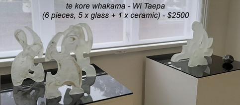 Wi Taepa - te kore whakama - $2500