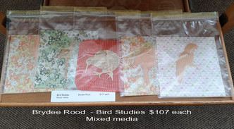 Brydee Rood - Bird Studies $107 each