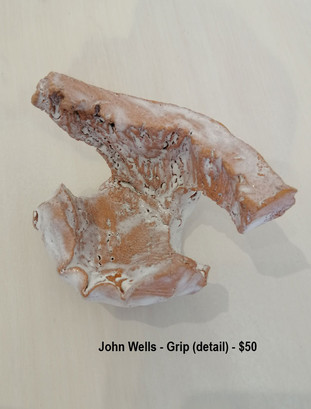 John Wells - Grip (detail) - $50