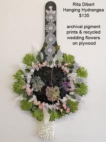 Rita Dibert - Hanging Hydrangea - $135