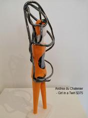 Andrea du Chatenier - Girl in a Twirl $375