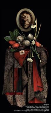 Lynn Hurst - Atomic Vanitas – Opera Coat, Shells, Flora [Entiwetok Atoll, Marshall Islands], 2021
