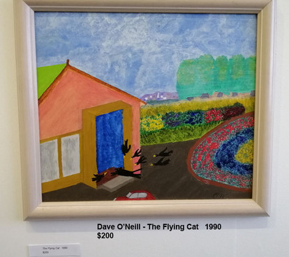Dave O'Neill - The Flying Cat   1990  $200