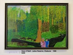 Dave O'Neill - Lakes Reserve, Ohakune    1986  $300