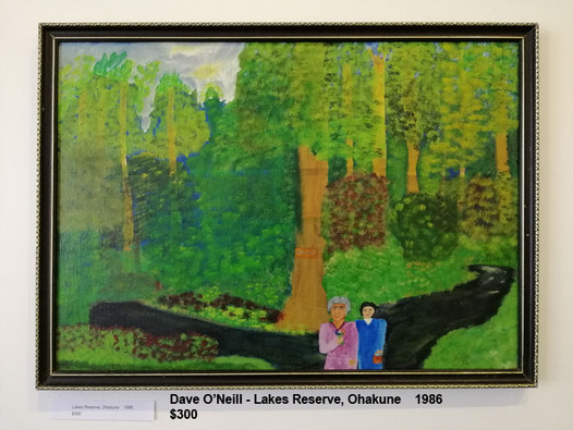 Dave O'Neill - Lakes Reserve, Ohakune    1986  $300
