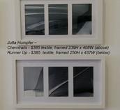 Jutta Humpfer - Chemtrails (Top) - Runner Up (Bottom) - $385 each