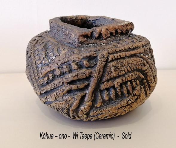 Wi Taepa - Kōhua – ono - Sold