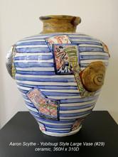 Aaron Scythe - Yobitsugi Style Large Vase (#29) - $POA