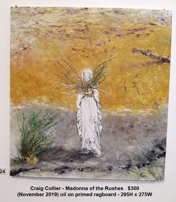 Craig Collier - Madonna of the Rushes   $300