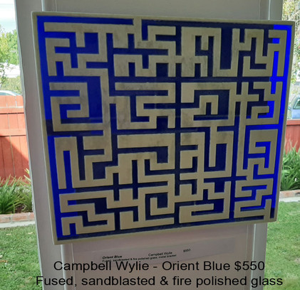 Campbell Wylie - Orient Blue $550