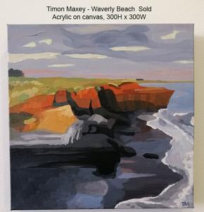 Timon Maxey - Waverley Beach $Sold