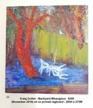 Craig Collier - Backyard Whanganui   $300