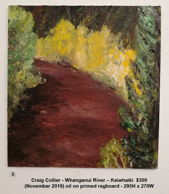 Craig Collier - Whanganui River – Kaiwhaiki  $300