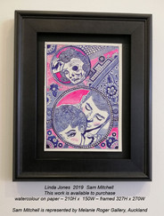 Sam Mitchell - Linda Jones  2019 - This work is available to purchase from A Gallery