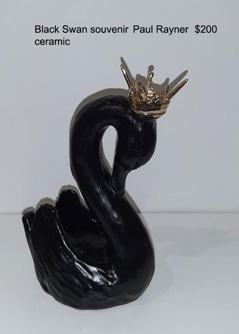 Black Swan souvenir  -  Paul Rayner  $200