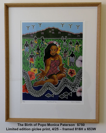 Monica Paterson - The Birth of Popo - $750