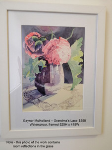 Gaynor Mulholland – Grandma's Lace $350