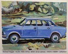 Michael Haggie - Austin 1800 (1972) - $450