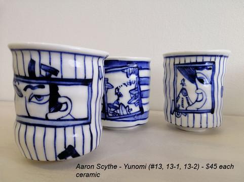Aaron Scythe - Yunomi (#13, 13-1, 13-2) - $45 each