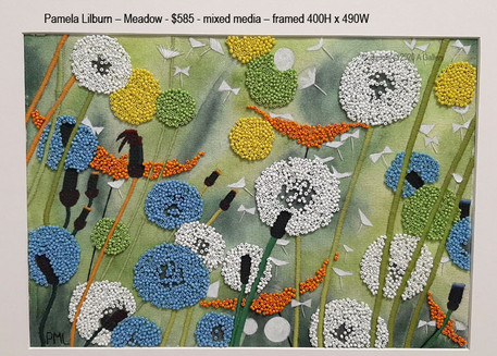 Pamela Lilburn – Meadow - $585