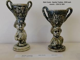 Mark Goody - Spartan Trophies - $200 each