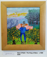 Dave O'Neill - The King of Bees   c.1988  $200