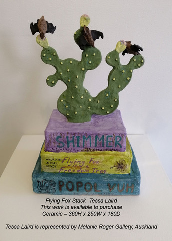 Tessa Laird - Flying Fox Stack - This work is available to purchase from A Gallery