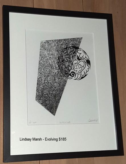 Lindsay Marsh - Evolving 1/1 $185