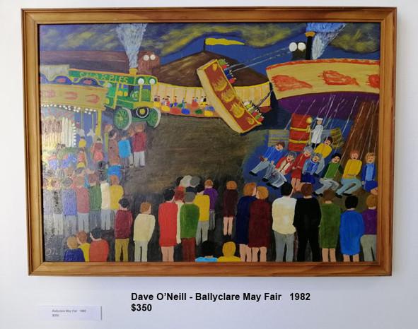 Dave O'Neill - Ballyclare May Fair   1982   $350