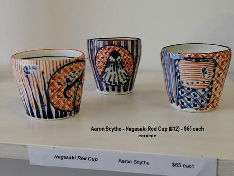 Aaron Scythe - Nagasaki Red Cup (#12) - $65 each