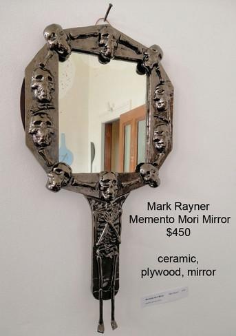Mark Rayner - Memento Mori Mirror - $450