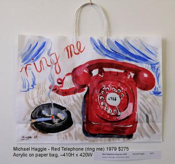 Michael Haggie - Red Telephone (ring me) 1979 $275