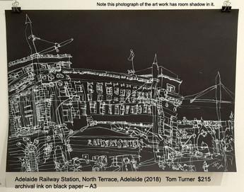 Adelaide Railway Station, North Terrace, Adelaide (2018) - Tom Turner  $215