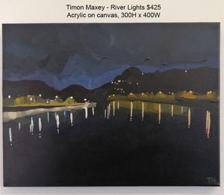 Timon Maxey - River Lights $425