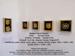 David Stewart - Badges
