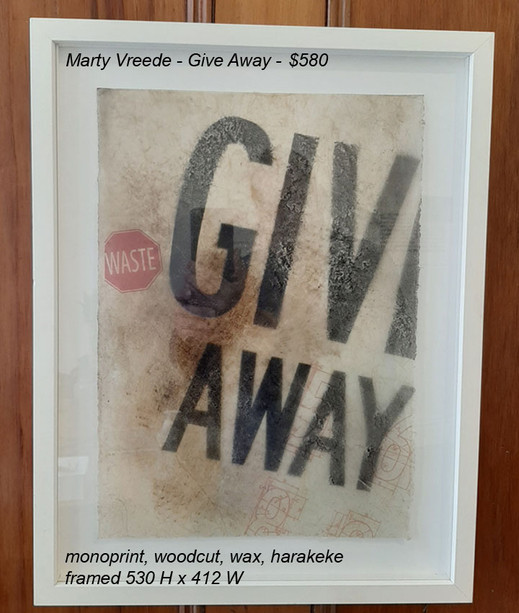 Marty Vreede - Give Away - $580