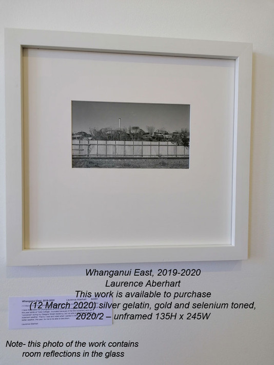 Laurence Aberhart - Whanganui East, 2019-2020 - This work is available to purchase