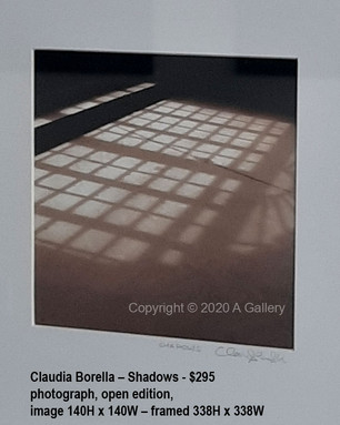 Claudia Borella – Shadows - $295