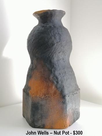 John Wells – Nut Pot - $300