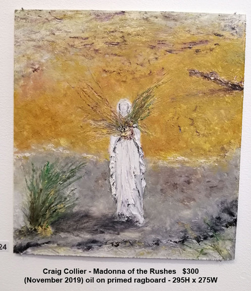 Craig Collier - Madonna of the Rushes - $300